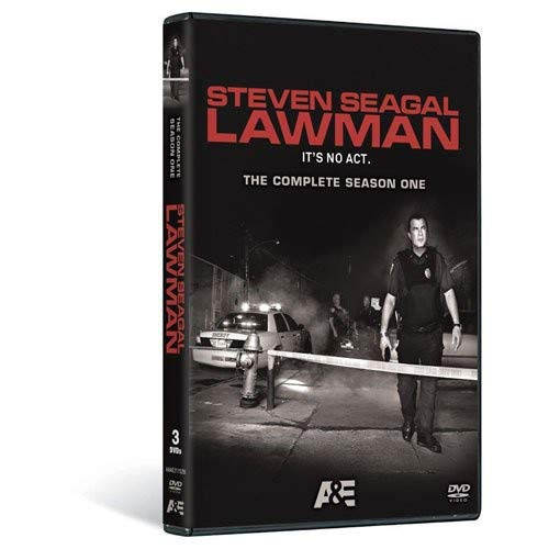 Steven Seagal Lawman: The Complete Season One DVD