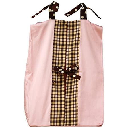 Mad Plaid In Diaper Stackers Pink For Baby