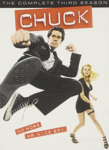 Chuck: The Complete Third Season DVD
