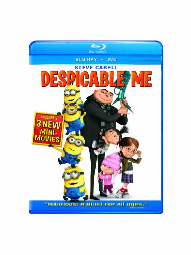 Despicable Me Three-Disc Blu-ray/DVD Combo + Digital Copy