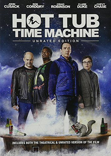 Hot Tub Time Machine DVD