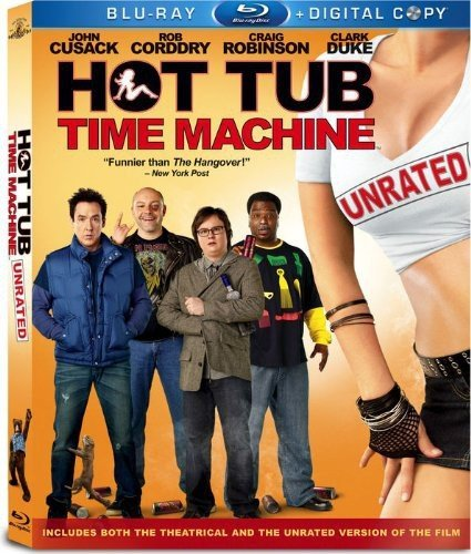 Hot Tub Time Machine [Blu-ray] DVD