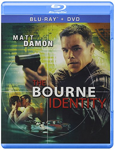 The Bourne Identity cover