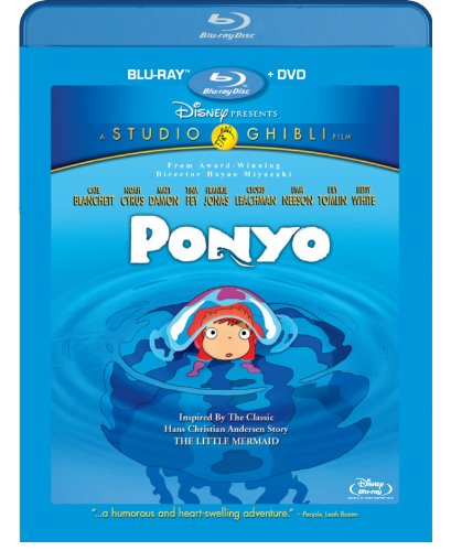 Ponyo Blu-ray cover
