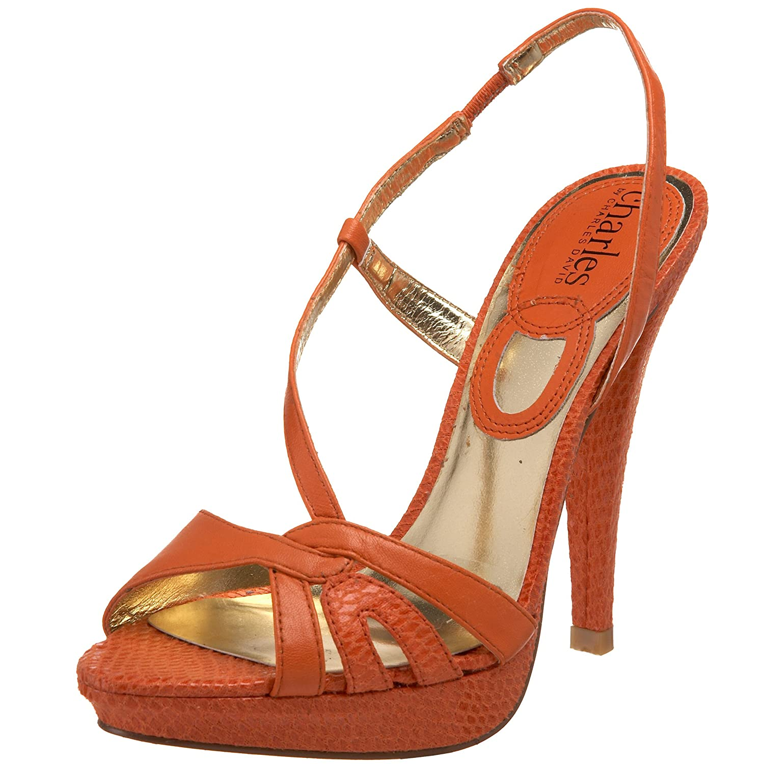 Charles by Charles David -  Anise Platform Sandal :  heeled sandals shoes womens shoes platform sandal