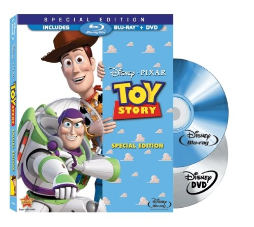 Toy Story Two-Disc Special Edition Blu-ray/DVD Combo in Blu-ray Packaging