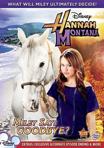 Hannah Montana: Miley Says Goodbye DVD