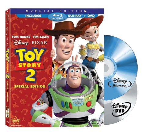 Toy Story 2 Two-Disc Special Edition Blu-ray/DVD Combo w/ Blu-ray Packaging