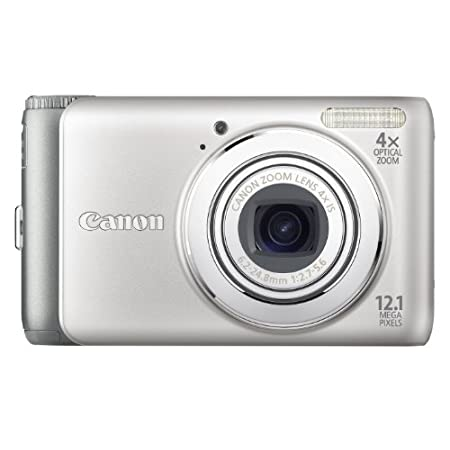 Canon Powershot 12.1mp Digital Camera Silver A3100 Is