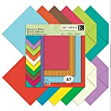Multicolored craft paper