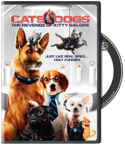 Cats & Dogs: Revenge of Kitty Galore DVD