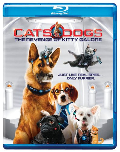 Cats & Dogs: Revenge of Kitty Galore [Blu-ray] DVD