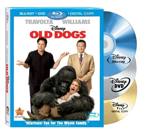 Old Dogs - 3 Disc Blu-ray Combo Pack  DVD