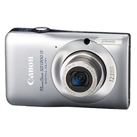 Canon Sd1300 Is 12.1mp Digital Camera With 4x Optical Zoom – Silver