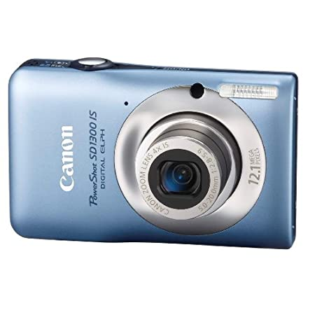 Canon Sd1300 Is 12.1mp Digital Camera With 4x Optical Zoom – Blue