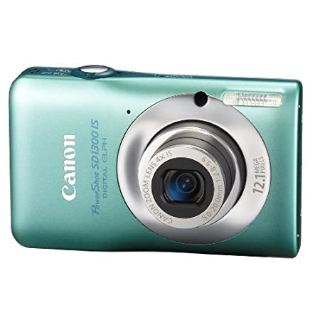 Canon Sd1300 Is 12.1mp Digital Camera With 4x Optical Zoom – Green