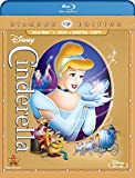 Cinderela: Diamond Edition Blu-ray + DVD + Digital Copy cover art -- click for larger view and to buy