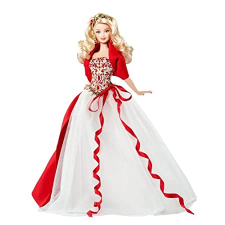 2010 Holiday Barbie Doll – Caucasian