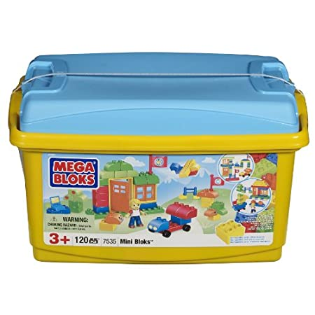 Mega Mini Bloks 120pc. Tub