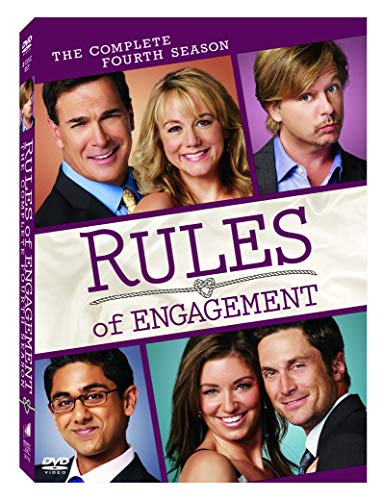 Rules of Engagement: The Complete Fourth Season DVD