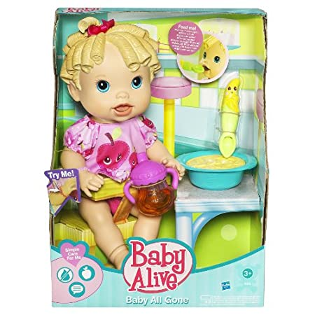 Baby Alive Baby All Gone Doll Caucasian
