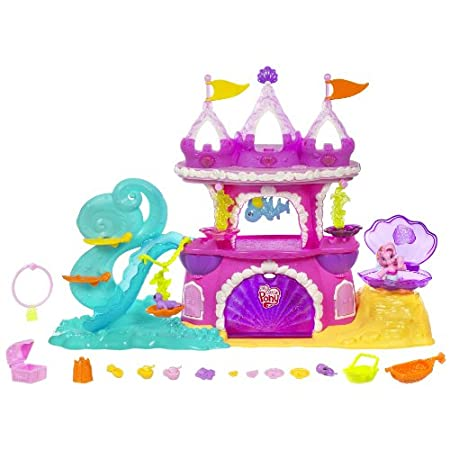 My Little Pony Mermaid Pony Castle