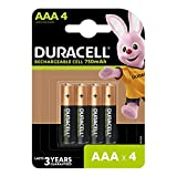 Product Image of Duracell Recharge Plus Type AAA Batteries 750 mAh, Pack of 4