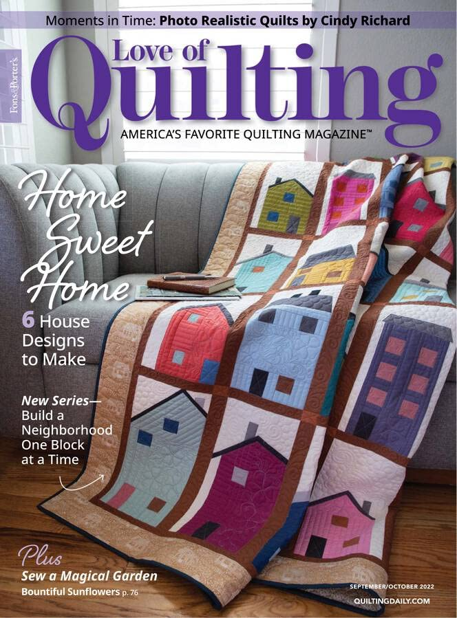 Fons and Porter's for the love of quilting.