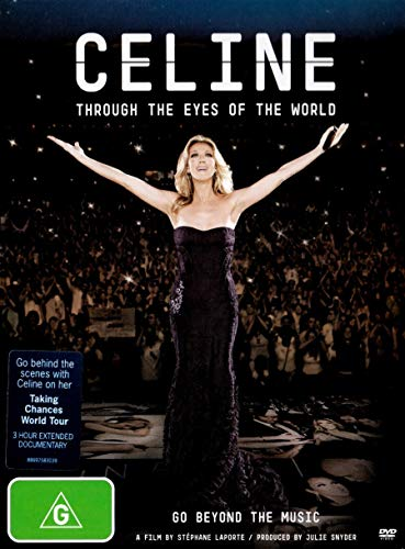 Celine: Through the Eyes of the World DVD