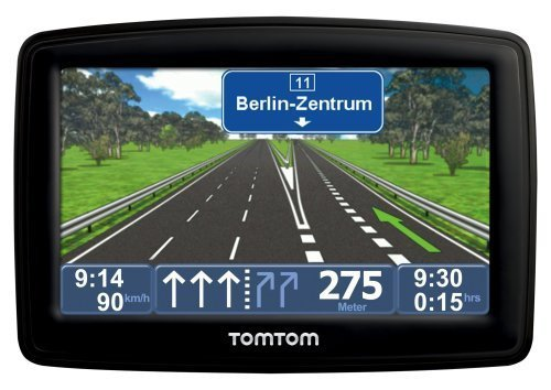 TomTom XL 2 IQ Routes Edition Central Europe Traffic Navigationssystem inkl. TMC (10,9 cm (4,3 Zoll) Display, 19 Länderkarten, EasyMenu, Fahrspurassistent) -- TomTom