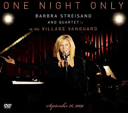 One Night Only Barbra Streisand and Quartet at The Village Vanguard September 26,2009 DVD with CD