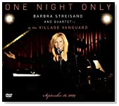 One Night Only / Barbra Streisand Live at the Village Vanguard