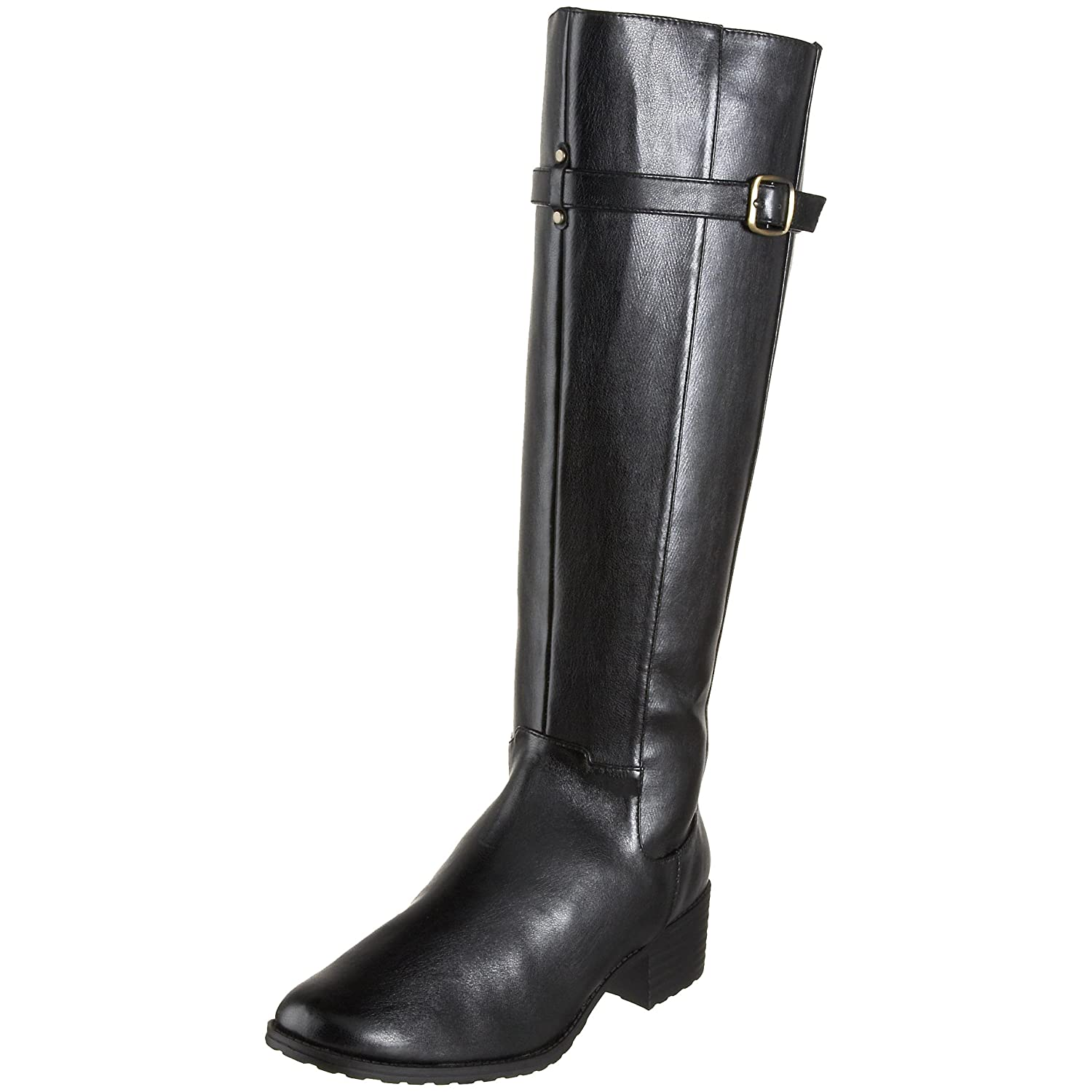 Annie Shoes  - Reins Knee-High Boot :  leather boots leather knee high leather boots womens shoes