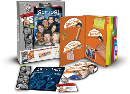 Scrubs: The Complete Collection DVD