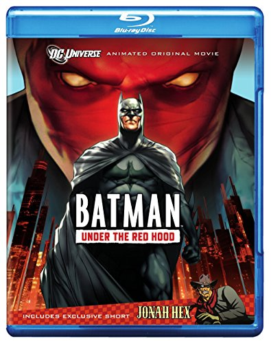 Batman: Under the Red Hood Blu-ray cover