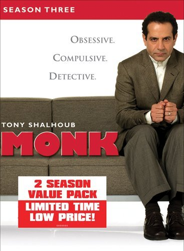 Monk: Season Three & Four DVD