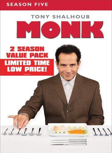 Monk: Season Five & Six DVD