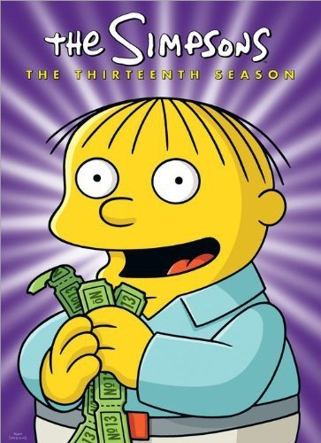 The Simpsons: The Complete Thirteenth Season DVD
