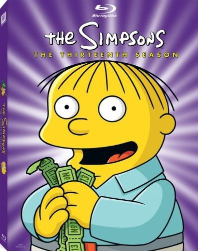 The Simpsons: The Thirteenth Season [Blu-ray] DVD