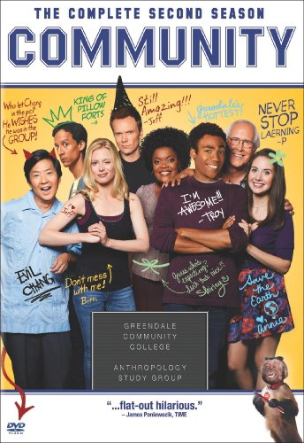 Community: The Complete Second Season DVD