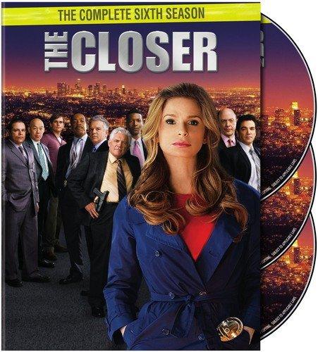 The Closer: The Complete Sixth Season DVD