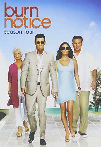 Burn Notice: Season Four DVD