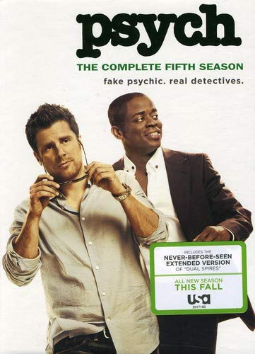 Psych: The Complete Fifth Season DVD