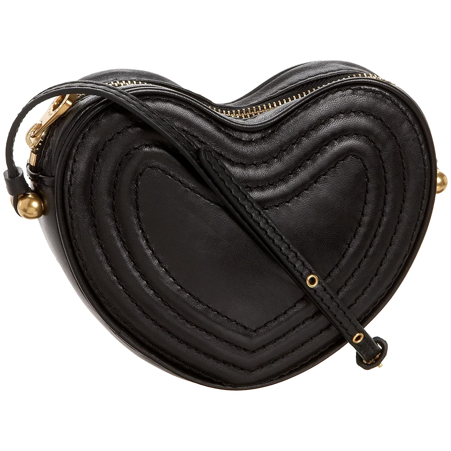 Marc by Marc Jacobs - Trapped! Heart Cross-Body :  leather bag crossbody bag bag cross body