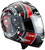 Rmer RR202146 Romanum Motorradhelm Gre XXL black / red / grey