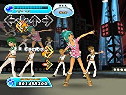 Screenshot: DanceDanceRevolution HOTTEST PARTY 3 für Wii