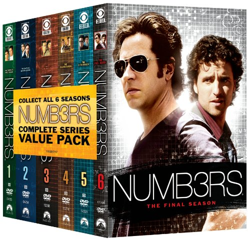 Numb3rs: Six Season Pack DVD