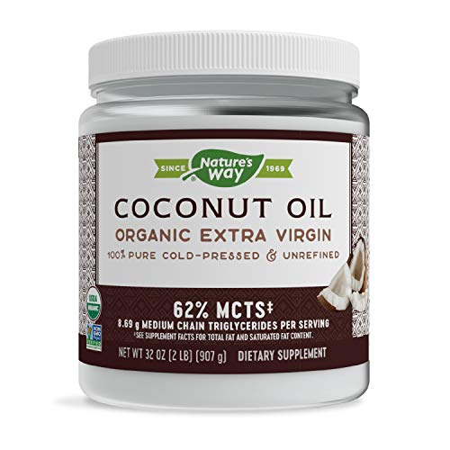 Nature's Way Organic Coconut Oil, 32 oz
