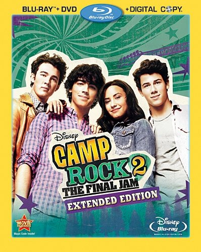 Camp Rock 2: The Final Jam - Extended Edition  DVD