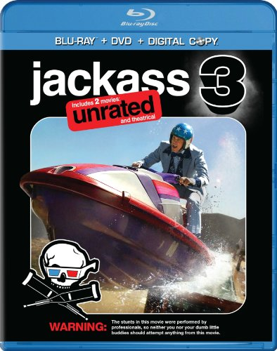 Jackass 3-D [Blu-ray] DVD